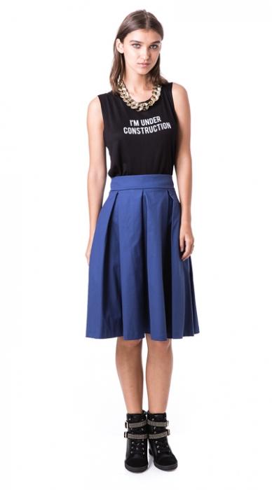 חצאית בל כחולה מיסמיס איטליה
