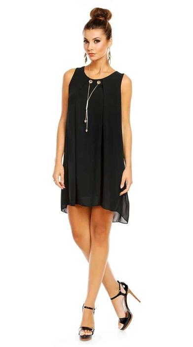 שמלת ADI שחורה O/SIZE