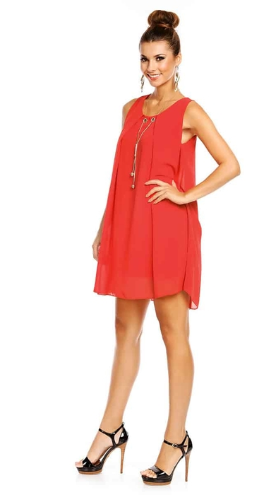שמלת ADI אדומה O/SIZE