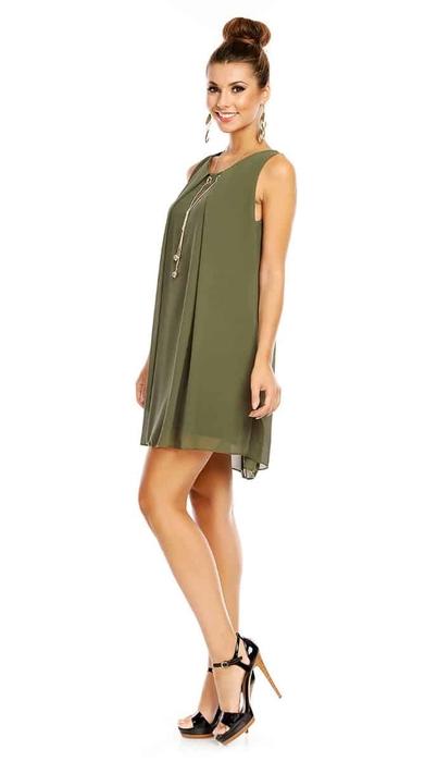 שמלת ADI ירוקה O/SIZE